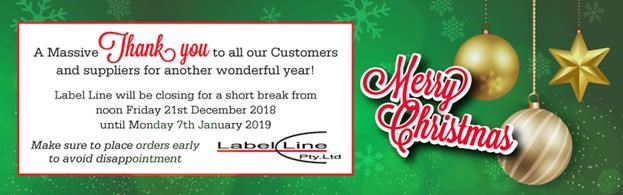 label line will be closing for a short break from noon friday 21st december 2018 until